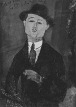 "This one survived survived the widow with bad taste: Amedeo Modigliani's ""Paul Guillaume, Novo Pilota,"" part of the Kimbell's new exhibit."