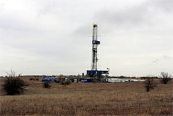 Rigs like this one could soon pop up in West Dallas.