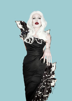 Queen of your nightmares: Sharon Needles.