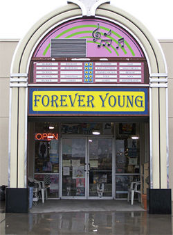 Forever Young's jukebox is a gateway to another time.