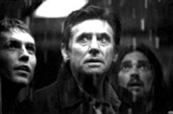 Ghost of a chance: Gabriel Byrne, center, leads a salvage crew into a world of clichéd horrors in Ghost Ship.