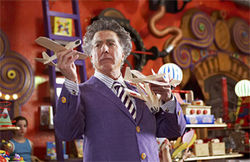 Bull mousse: Dustin Hoffman, selling toys with a side of schmaltz in Mr. Magorium
