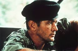 So do you think Martin Sheen suffers post-traumatic stress from his time in the jungle with Coppola and Brando?
