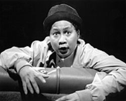Be Boyd portrays activist Sonny Carson, one of 23 people who inhabit Anna Deveare Smith&#039;s handy dismantling of black-Jewish hysteria in Crown Heights.