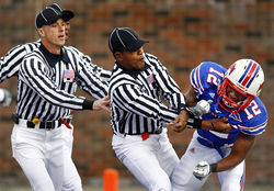 """But that's my game, being reckless,"" says SMU cornerback Derrius Bell, permanently sidelined after a series of concussions last season."