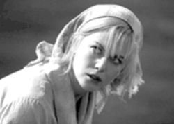 Grace under fire: Kidman mines herself--not very deeply--in Dogville.