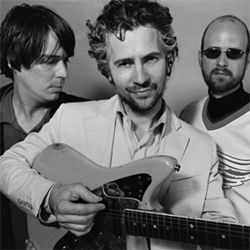 Space cases: Steven Drozd, Wayne Coyne and Michael Ivins