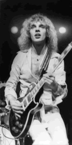 Baby, I love your way. Well, I used to: Peter Frampton, back when he was a golden god.