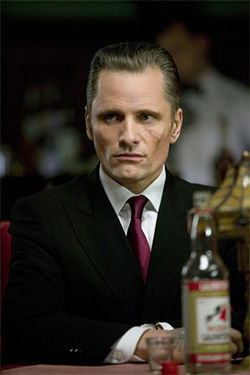 You know, he looks like a guy named Viggo here&amp;mdash;very scary.