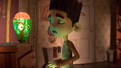 He sees dead people, and chats with them. Norman saves the day in the animated 3-D comedy ParaNorman.
