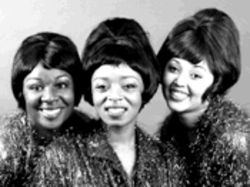 Life is but a dream: Chimberly Carter, Joi Jackson and Vernicia Vernon get into the singing style (and wigs) of '60s Motown.