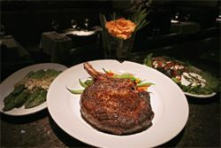 Ready for Prime time: Park Cities&#039; bone-in rib eye.