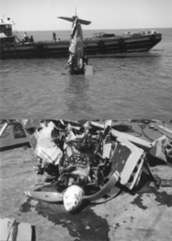 Carmen Rivera-Worley somehow managed to free herself from the wreckage of this single-engine Piper Cherokee after it slammed into the murky waters of Lake Pontchartrain and sank in about 20 feet of water. Three others, including Rivera-Worley's daughter, died in the crash, which was caused by the failure of a vacuum pump.