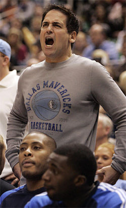 On his blog, Mavs owner Mark Cuban published some of the racist-sounding e-mails of fans outraged by Josh Howard's dissing of the national anthem.