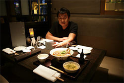 Veteran restaurateur Teiichi Sakurai shows off his new wares at Tei An, a stunning addition to One Arts Plaza.