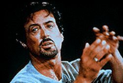 Sly Stallone is rectally probed on Inside the Actors Studio.