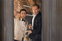 Freddy Rodriguez and Josh Lucas look for a way out of Poseidon. Audiences will be doing the same.