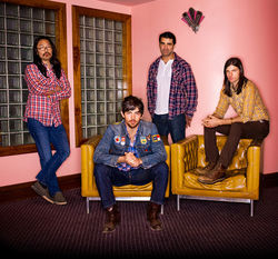 Plaid shirts are a requirement if you want to be an Avett Brother.