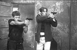 Straight shooters: Ryan Phillippe and Benicio Del Toro pull the trigger on the year&#039;s best movie (OK...so far).