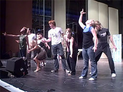 Best musical of 2008: Lyric Stage's West Side Story, light on scenery, light on its feet.