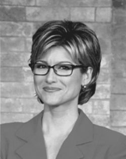 "Ashleigh Banfield, the ""Girl in the Glasses."""