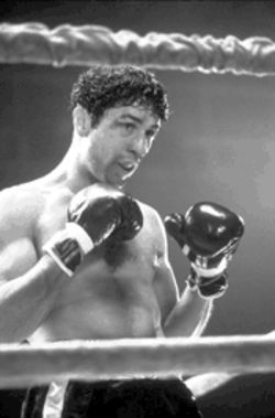 The contender, and then some: Robert De Niro as Jake La Motta, before the fighter became a failure