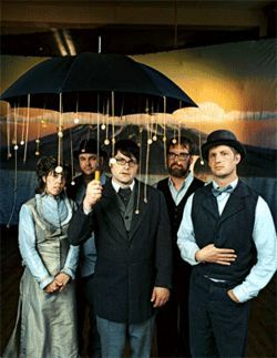 Anachronistic glasses aside, expect vaudevillian high jinks from The Decemberists.