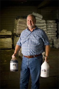 Bobby Spence, whose company produces and distributes organic products nationally, believes the Dallas-Fort Worth area has become the nation's biggest and most receptive market for organic lawn and garden products.