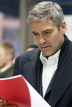 Broken fixer: George Clooney as a lawyer at loose ends