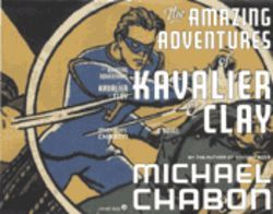 The cover of Chabon's book, featuring The Escapist, is a homage to the first issus of Captain America Comics.