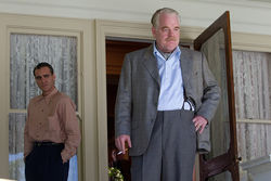 Joaquin Phoenix and Philip Seymour Hoffman's relationship is at the heart of The Master.