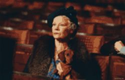 Great dame: Judi Dench gives us a dose of stiff upper lip in Mrs. Henderson Presents.