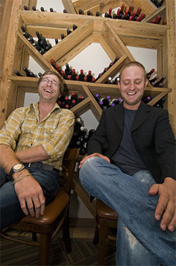 Chris Jeffers and Chris Zielke, owners of Bolsa and Smoke
