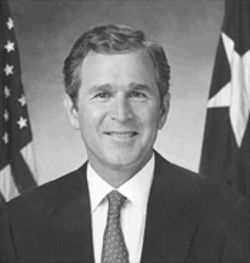 Despite Kress' strong Democratic Pary credentials, Republican presidential nominee George W. Bush asked him to be one of Bush's Educational advisors on his campaign.