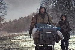 Viggo Mortensen and Kodi Smit-McPhee travel Cormac McCarthy's post-apocalyptic Road.