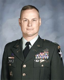 Kristy Kruger's brother, Lieutenant Colonel Eric Kruger, was one of the highest-ranking officers killed in Iraq.