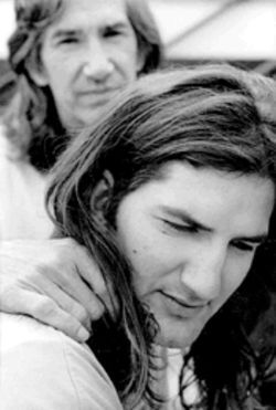 J.T. and Townes Van Zandt made peace before the father's death.