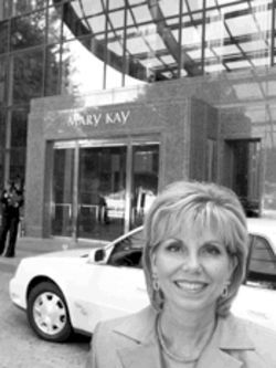 Karen Piro, Dallas' No. 1 Mary Kay saleswoman, has netted more than $6 million in her 27 years with the company.