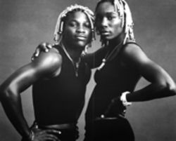 Women indeed: Annie Leibovitz captured Serena and  Venus Williams at the start of their journey toward  fashion design, cover girls and, of course, undeniable  tennis champs.