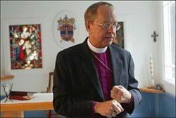 Gene Robinson was the first openly gay man elected as a bishop in the Episcopal Church.