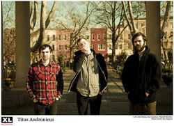 Titus Andronicus: plaid shirts, hoodies and a whole lotta maritime love.