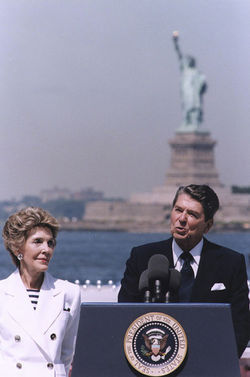 Reagan relit the torch and signed the amnesty bill in '86
