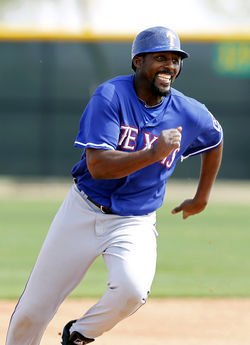 Let's hope Vladimir Guerrero can hit as well playing for the Rangers as he did against them.