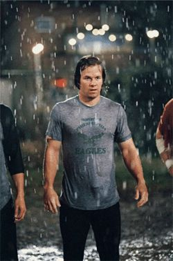 "So where does an athlete built like Mark ""Boogie Nights"" Wahlberg buy a cup?"