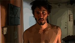 Even partly animated, Keanu Reeves isn't, you know, animated.