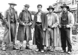 Group hug: Jesse James&#039; gang wasn&#039;t just deadly--it was sexy.