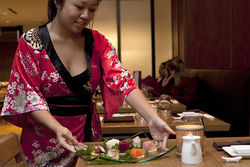 Inconsistency is almost always a training issue. But the one-night-on, one-night-off performance at Geisha House seems extreme.