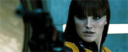 Malin Akerman is Silk Spectre II.