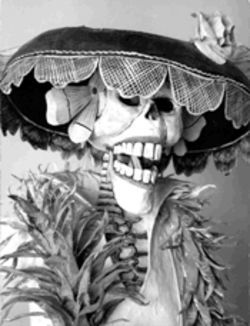 "Calavera Catrina's ""From a Dream of a Sunday Afternoon in Alameda Park"""