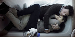 Amy Seimetz and Shane Carruth in a scene from Upstream Color.